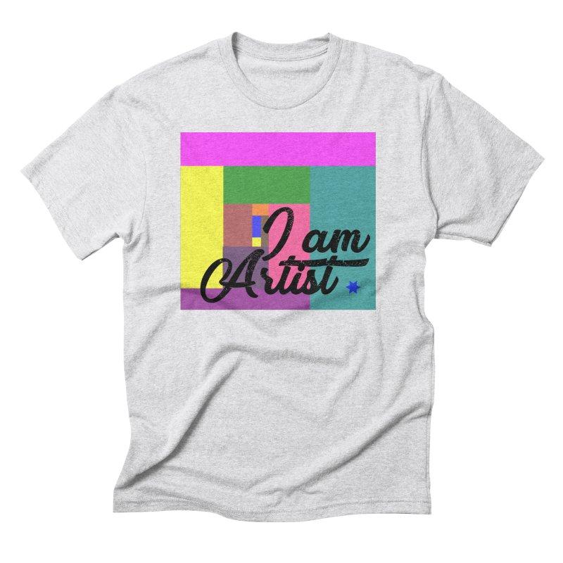 I AM ARTIST Men's Triblend T-Shirt by ZuniReds's Artist Shop