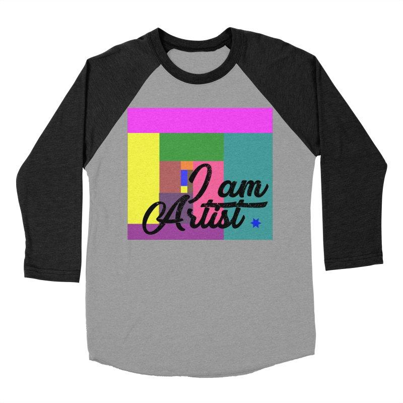 I AM ARTIST Men's Baseball Triblend Longsleeve T-Shirt by ZuniReds's Artist Shop