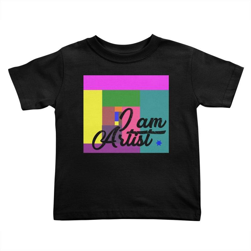 I AM ARTIST Kids Toddler T-Shirt by ZuniReds's Artist Shop