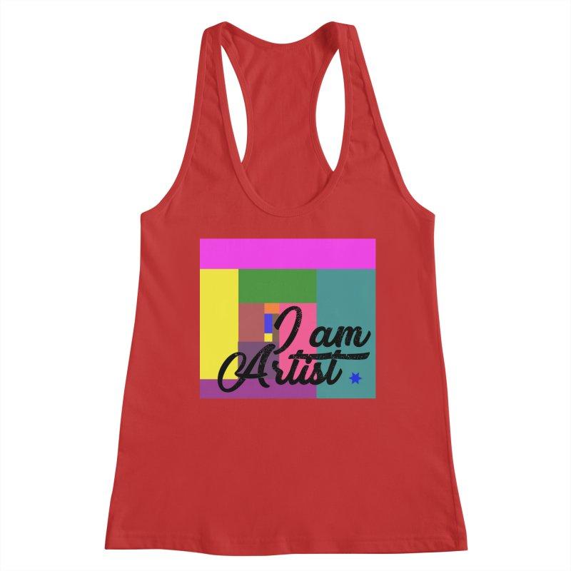 I AM ARTIST Women's Tank by ZuniReds's Artist Shop