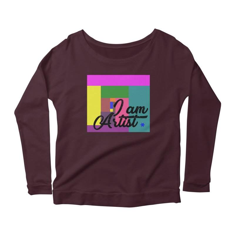 I AM ARTIST Women's Longsleeve T-Shirt by ZuniReds's Artist Shop