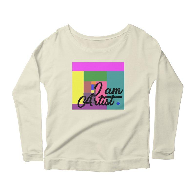 I AM ARTIST Women's Scoop Neck Longsleeve T-Shirt by ZuniReds's Artist Shop