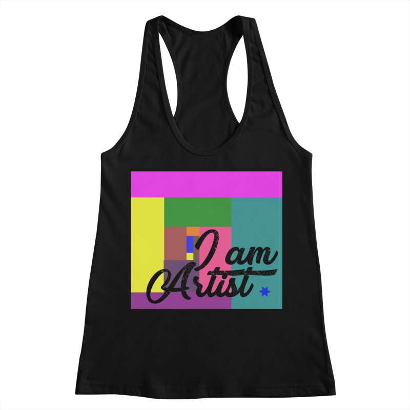 I AM ARTIST Women's Racerback Tank by ZuniReds's Artist Shop