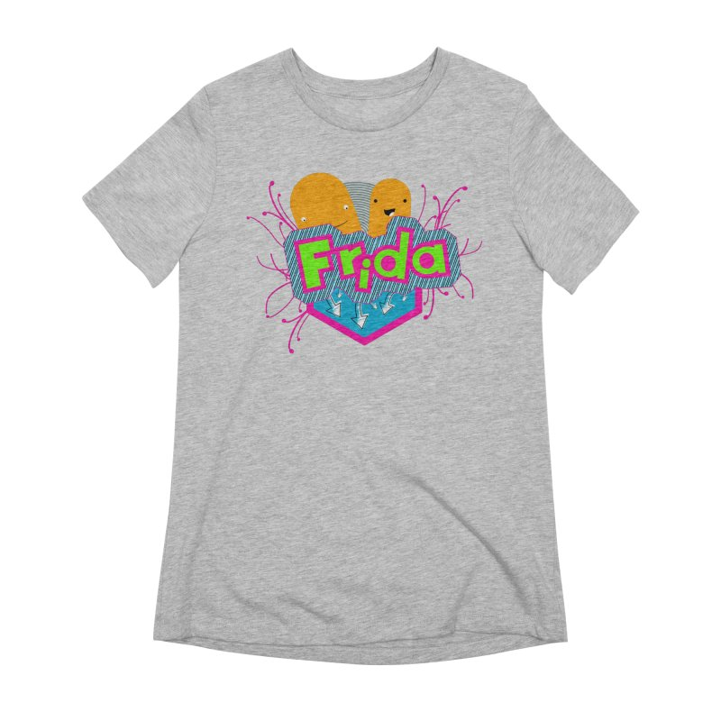 Frida Women's Extra Soft T-Shirt by ZuniReds's Artist Shop