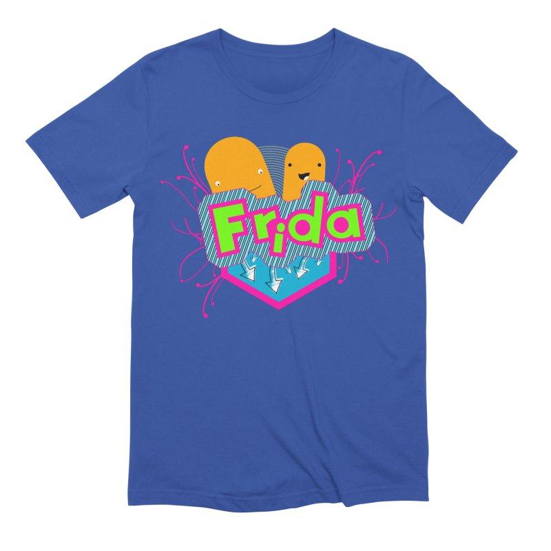 Frida Men's Extra Soft T-Shirt by ZuniReds's Artist Shop