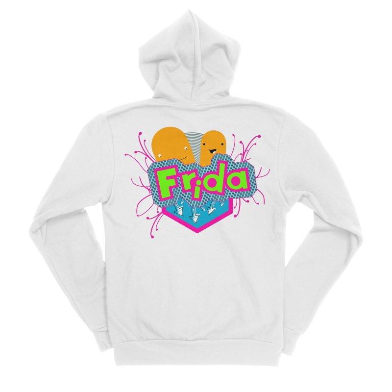 Frida Men's Sponge Fleece Zip-Up Hoody by ZuniReds's Artist Shop