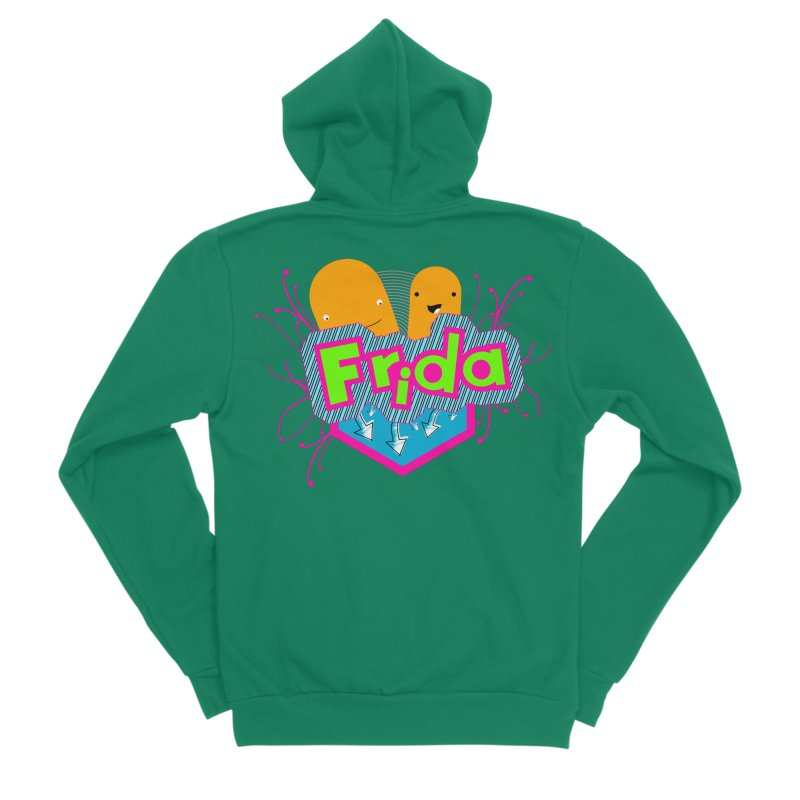 Frida Women's Zip-Up Hoody by ZuniReds's Artist Shop