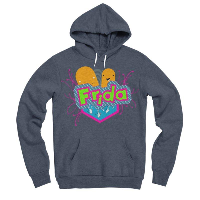 Frida Men's Sponge Fleece Pullover Hoody by ZuniReds's Artist Shop