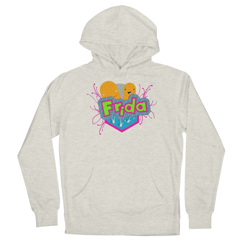 Frida Men's French Terry Pullover Hoody by ZuniReds's Artist Shop