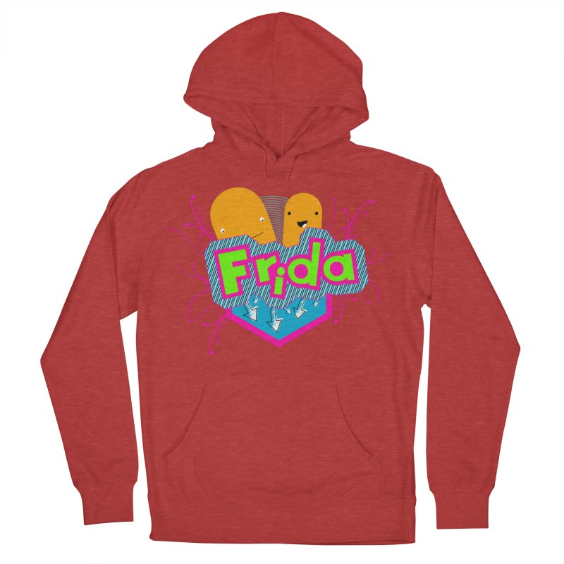 Frida Women's French Terry Pullover Hoody by ZuniReds's Artist Shop