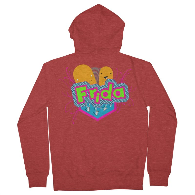 Frida Women's French Terry Zip-Up Hoody by ZuniReds's Artist Shop