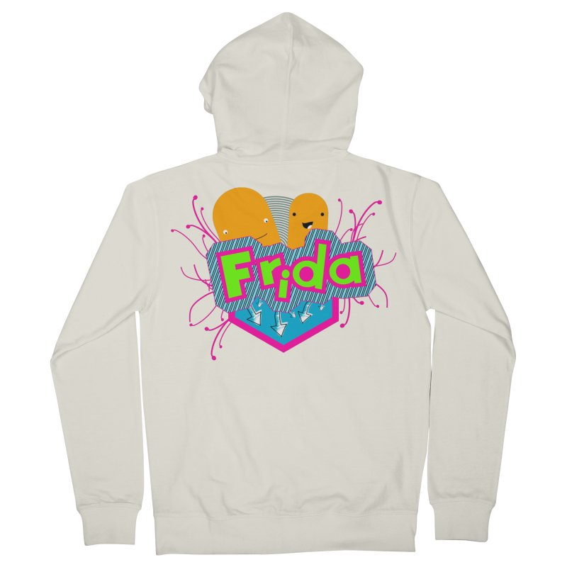 Frida Men's French Terry Zip-Up Hoody by ZuniReds's Artist Shop