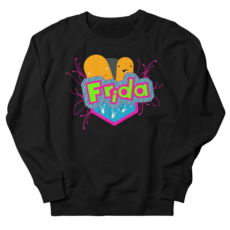 Frida Women's French Terry Sweatshirt by ZuniReds's Artist Shop