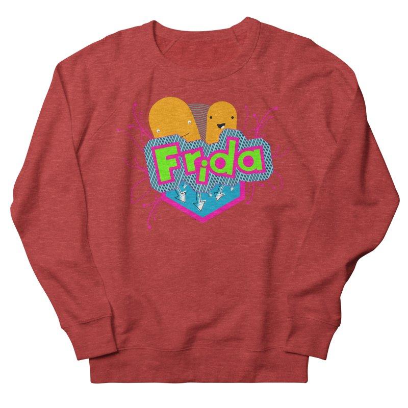 Frida Men's French Terry Sweatshirt by ZuniReds's Artist Shop