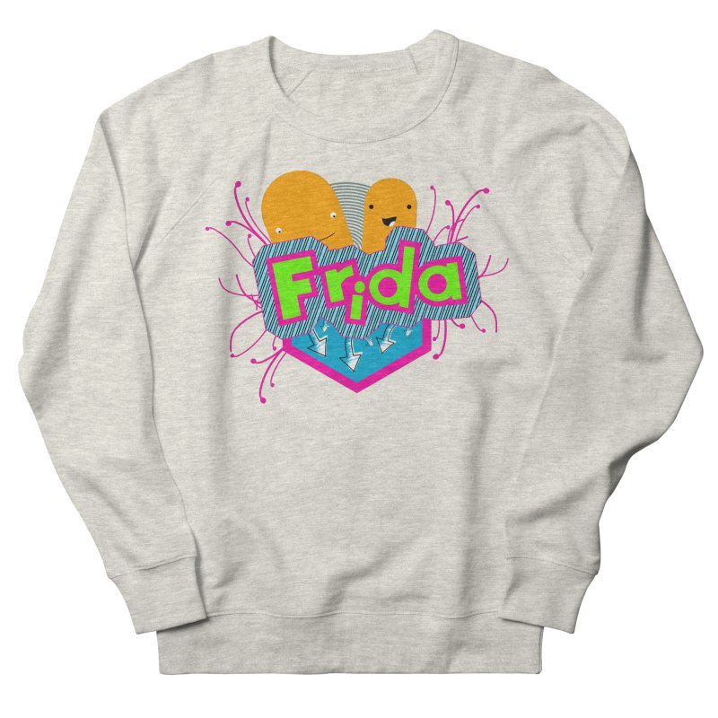 Frida Men's French Terry Sweatshirt by ZuniReds's Artist Shop
