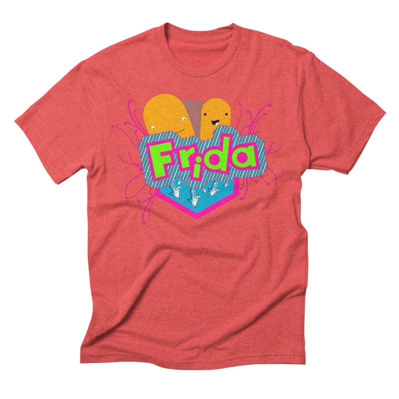 Frida Men's Triblend T-Shirt by ZuniReds's Artist Shop