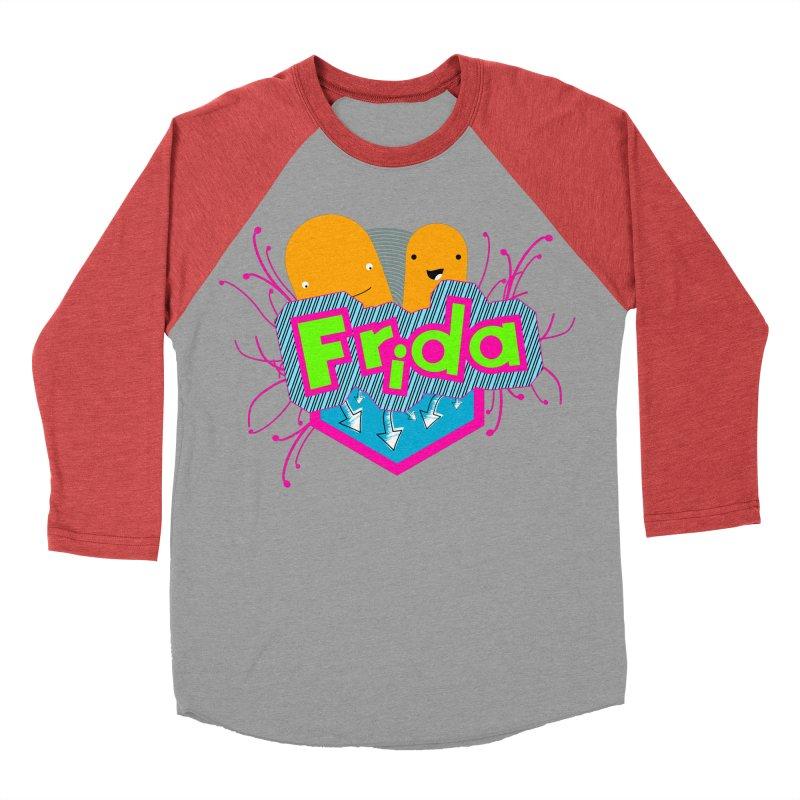 Frida Women's Baseball Triblend Longsleeve T-Shirt by ZuniReds's Artist Shop