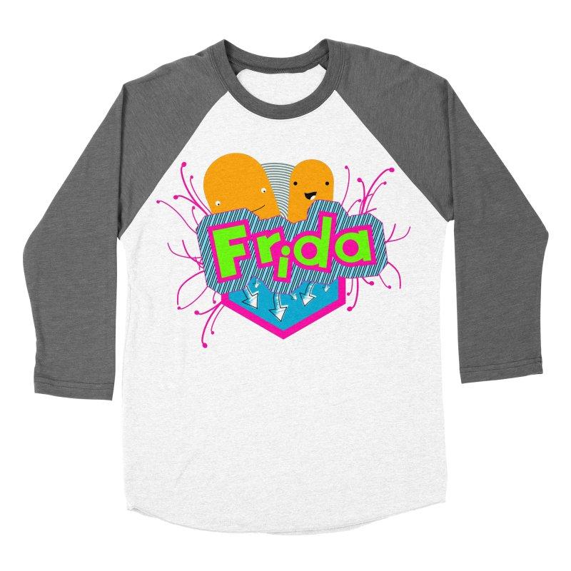 Frida Men's Baseball Triblend Longsleeve T-Shirt by ZuniReds's Artist Shop