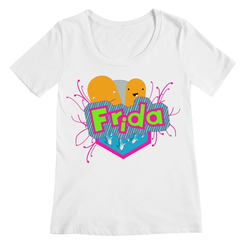 Frida Women's Regular Scoop Neck by ZuniReds's Artist Shop