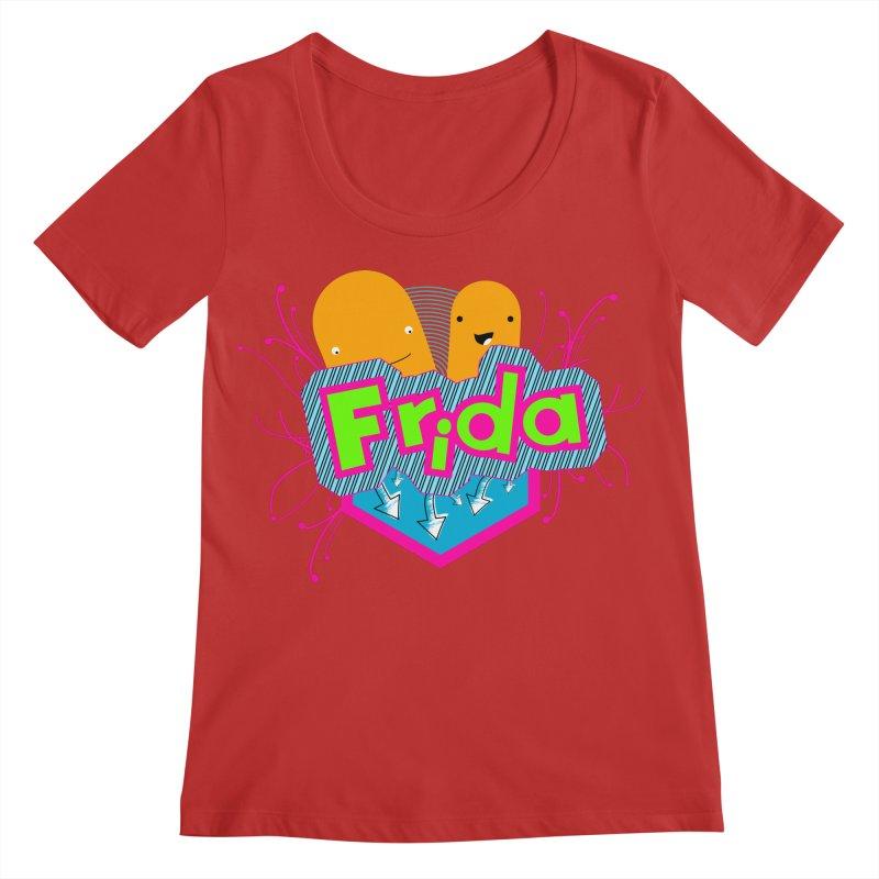 Frida Women's Regular Scoop Neck by ZuniReds's Artist Shop