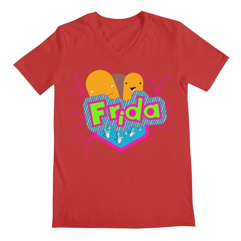 Frida Men's V-Neck by ZuniReds's Artist Shop