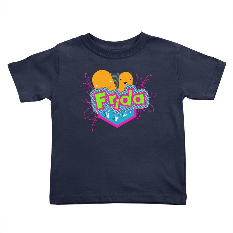 Frida Kids Toddler T-Shirt by ZuniReds's Artist Shop