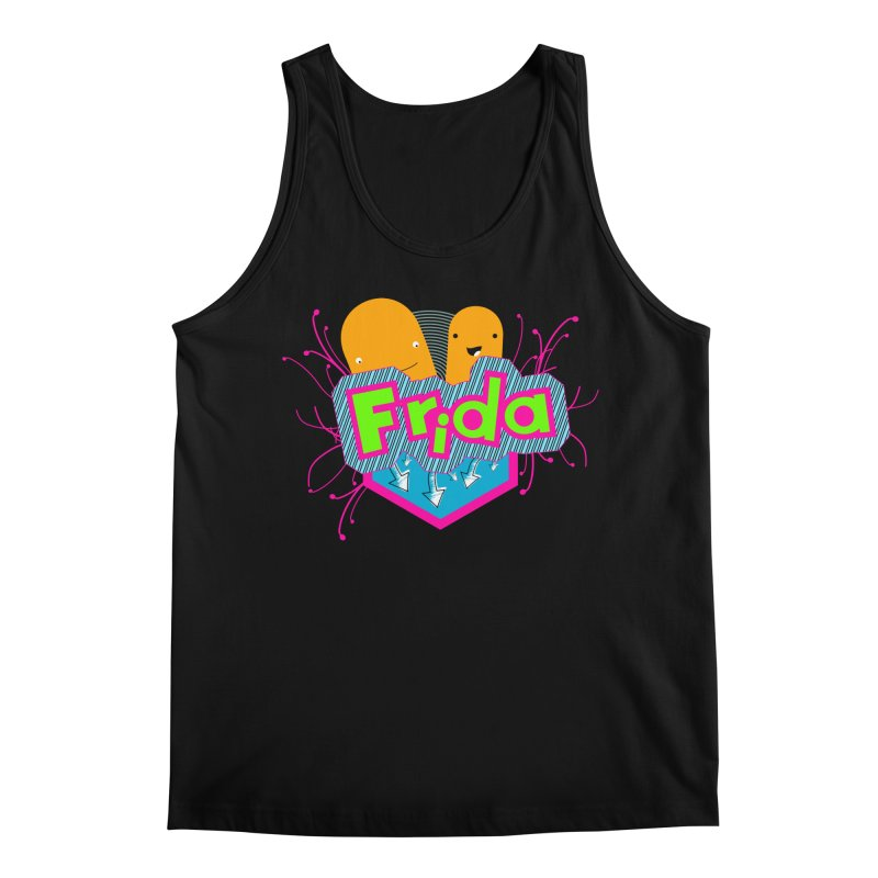 Frida Men's Regular Tank by ZuniReds's Artist Shop