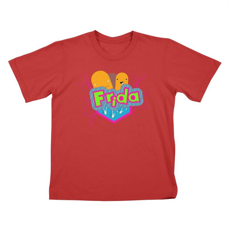 Frida Kids T-Shirt by ZuniReds's Artist Shop
