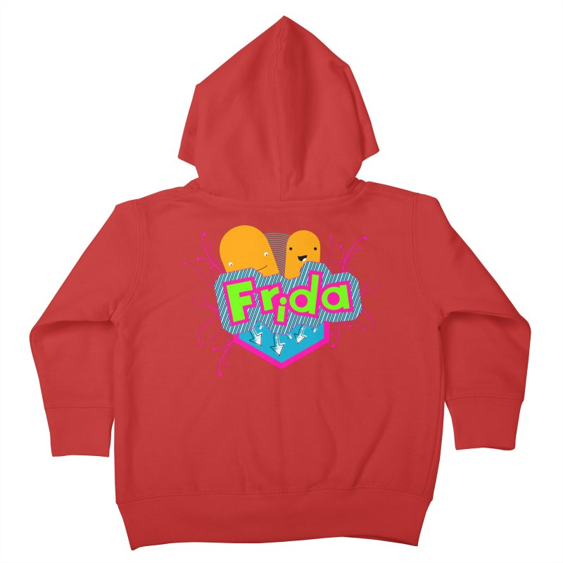 Frida Kids Toddler Zip-Up Hoody by ZuniReds's Artist Shop