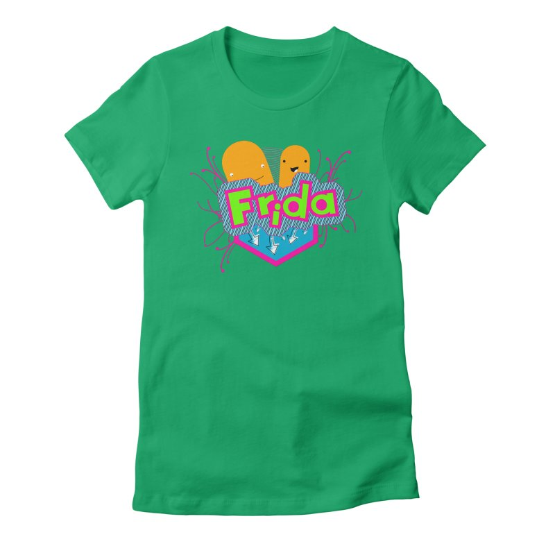 Frida Women's Fitted T-Shirt by ZuniReds's Artist Shop
