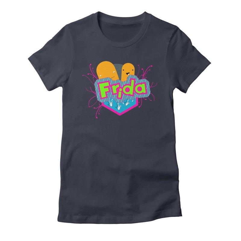Frida Women's Fitted T-Shirt by ZuniReds's Artist Shop