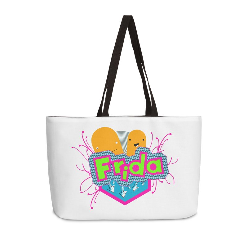Frida Accessories Weekender Bag Bag by ZuniReds's Artist Shop