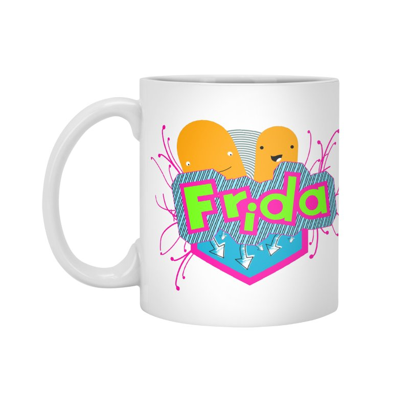 Frida Accessories Standard Mug by ZuniReds's Artist Shop