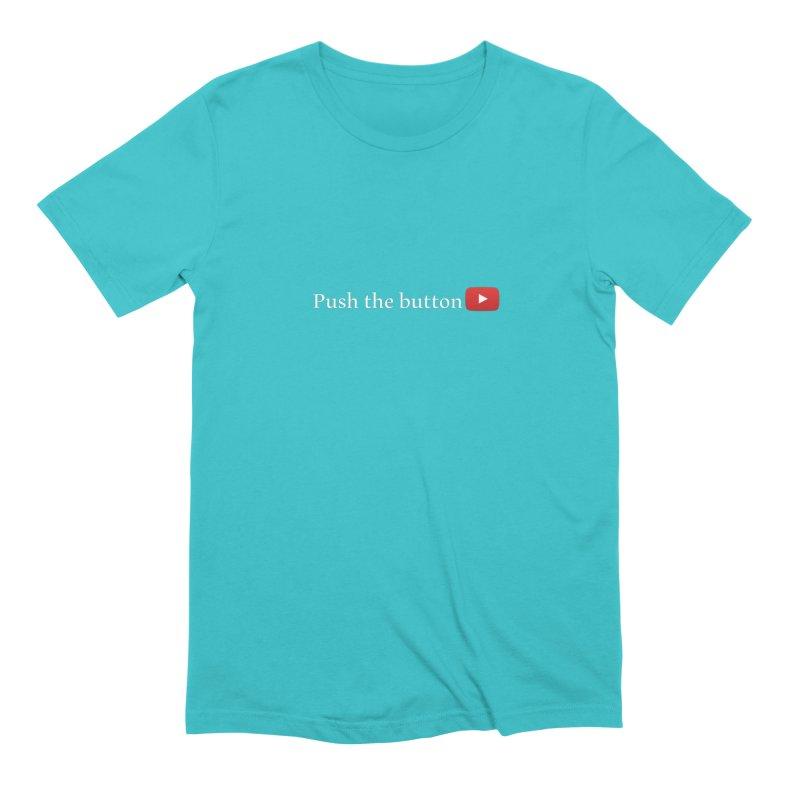 Push the button Men's Extra Soft T-Shirt by ZuniReds's Artist Shop