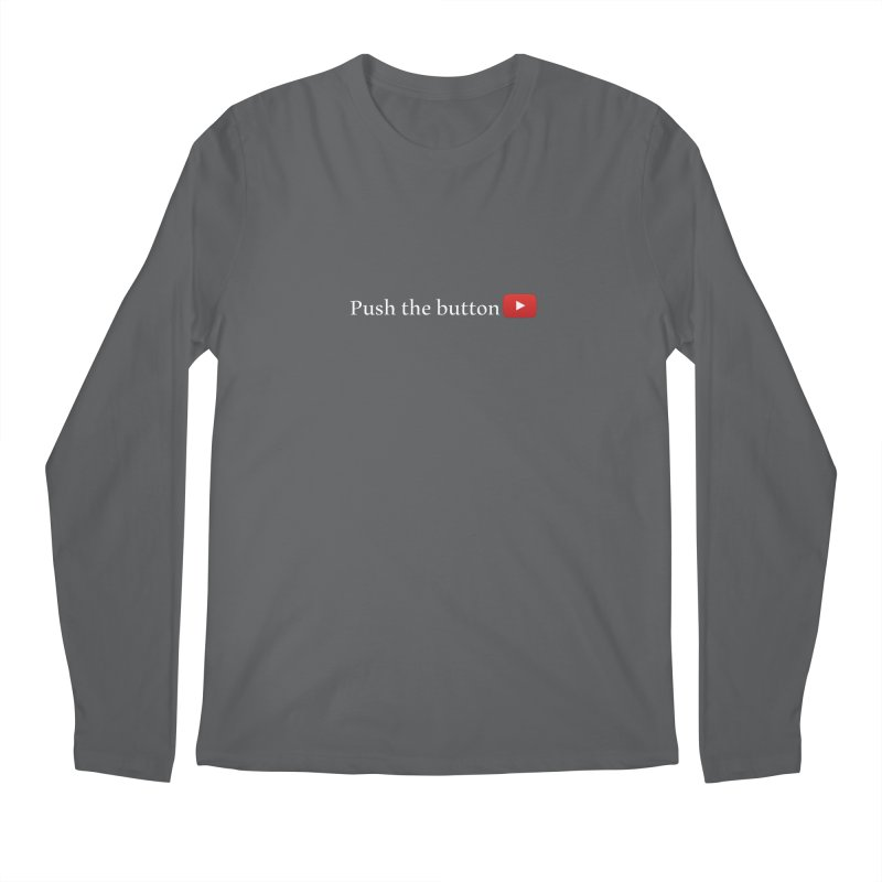 Push the button Men's Regular Longsleeve T-Shirt by ZuniReds's Artist Shop