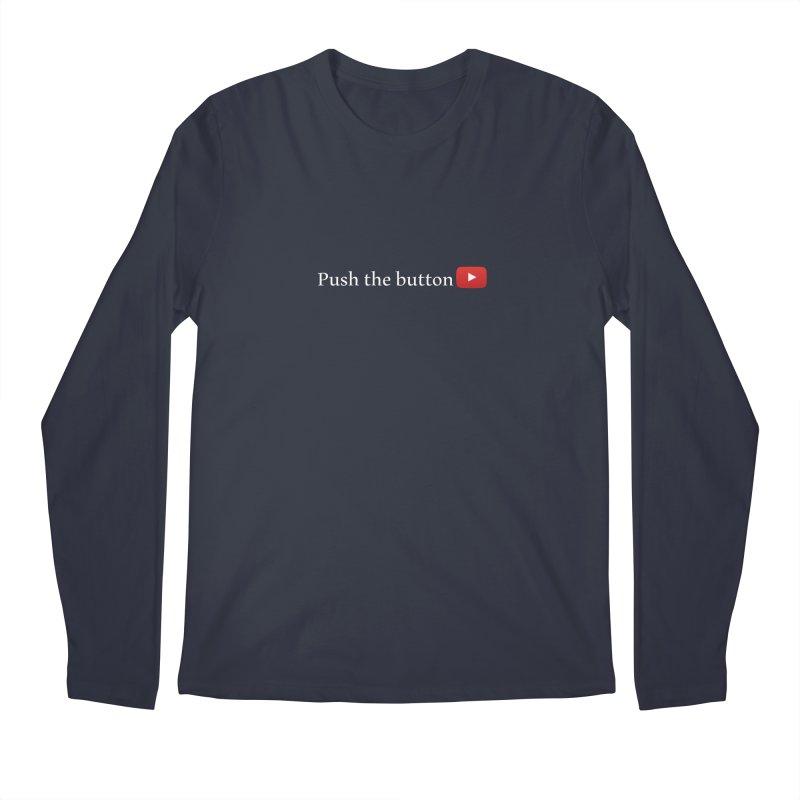 Push the button Men's Regular Longsleeve T-Shirt by ZuniReds's Artist Shop