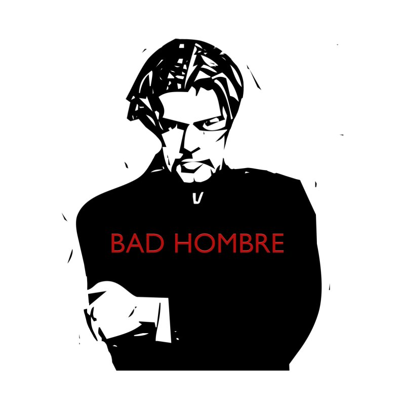 BAD HOMBRE Accessories Zip Pouch by zuzugraphics's Artist Shop