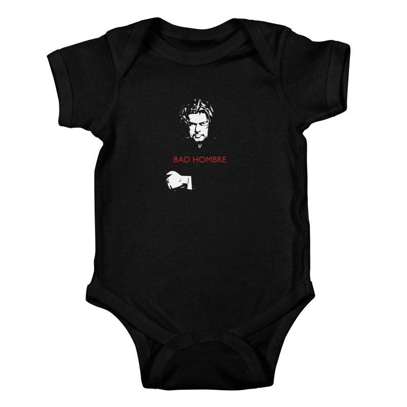 BAD HOMBRE Kids Baby Bodysuit by zuzugraphics's Artist Shop