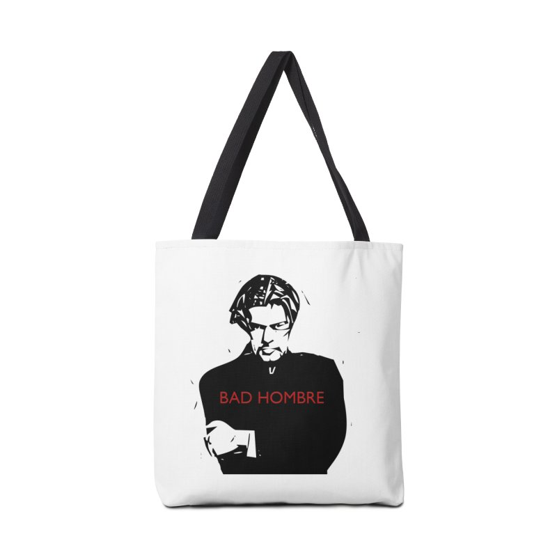 BAD HOMBRE Accessories Bag by zuzugraphics's Artist Shop