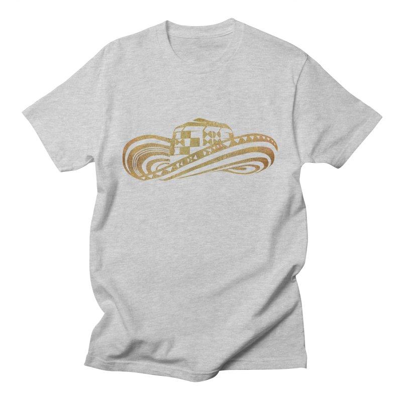 Colombian Sombrero Vueltiao in Gold Leaf Men's T-Shirt by zuzugraphics's Artist Shop