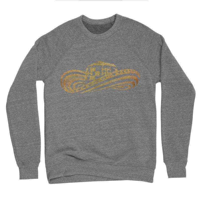 Colombian Sombrero Vueltiao in Gold Leaf Women's Sponge Fleece Sweatshirt by zuzugraphics's Artist Shop