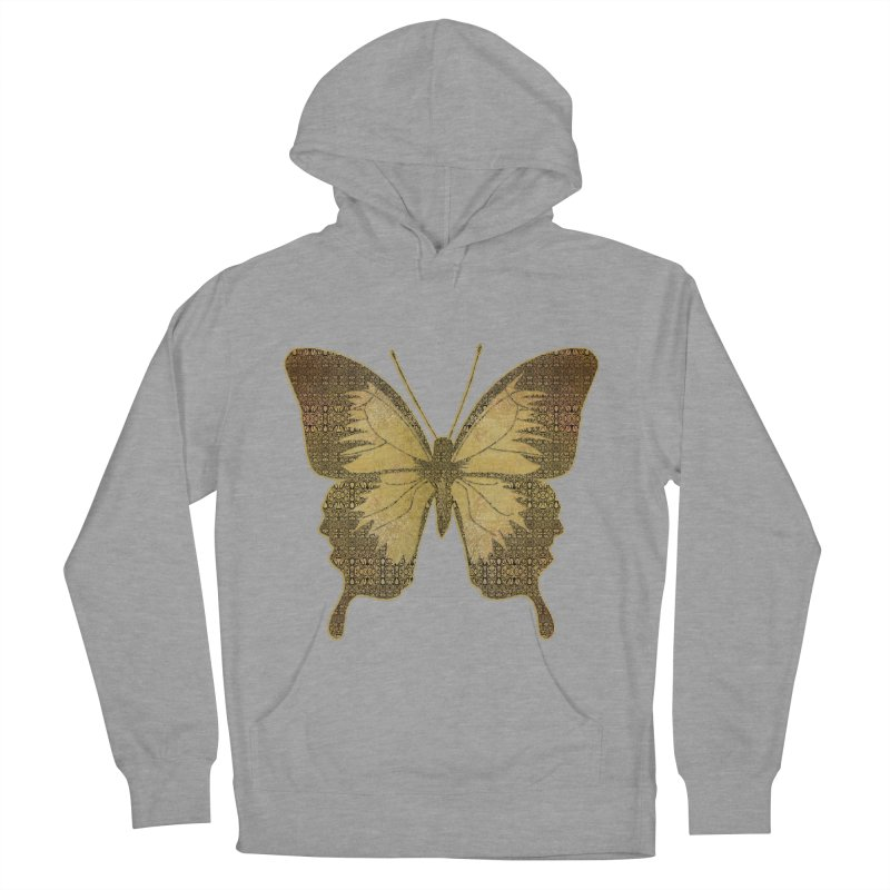 Golden Butterfly Women's Pullover Hoody by zuzugraphics's Artist Shop