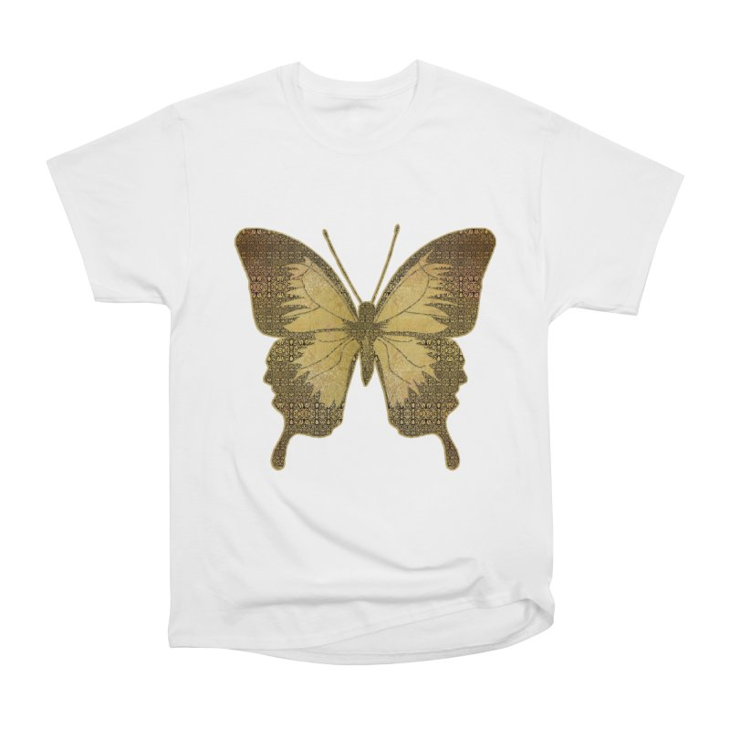 Golden Butterfly Women's T-Shirt by zuzugraphics's Artist Shop