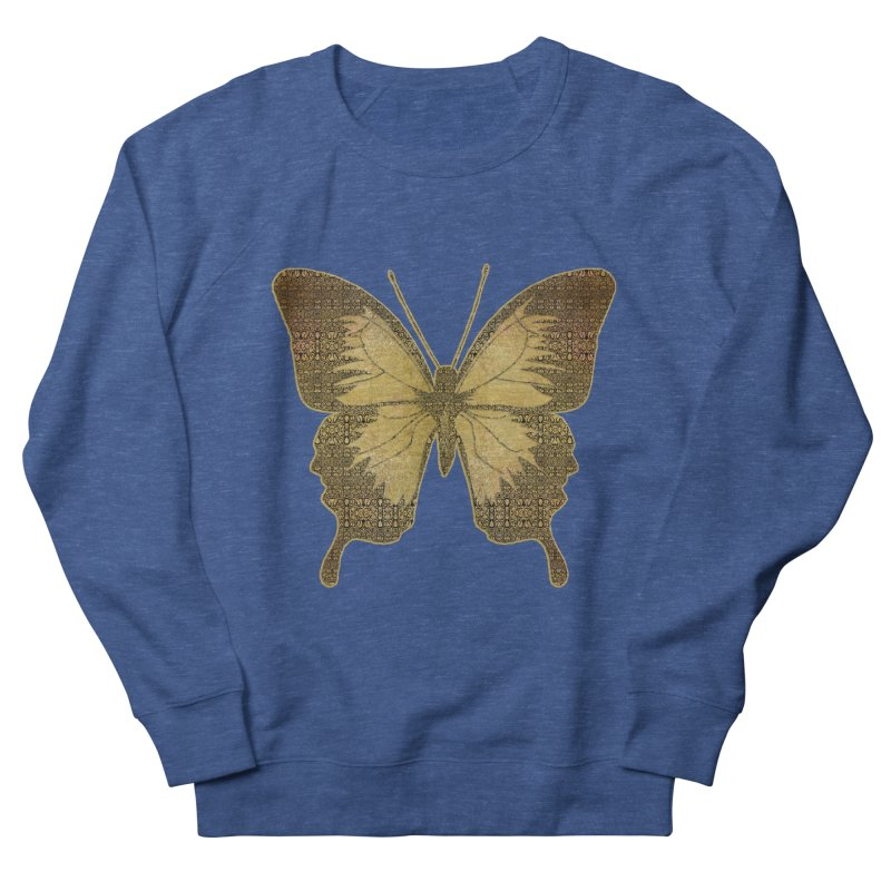 Golden Butterfly Women's Sweatshirt by zuzugraphics's Artist Shop