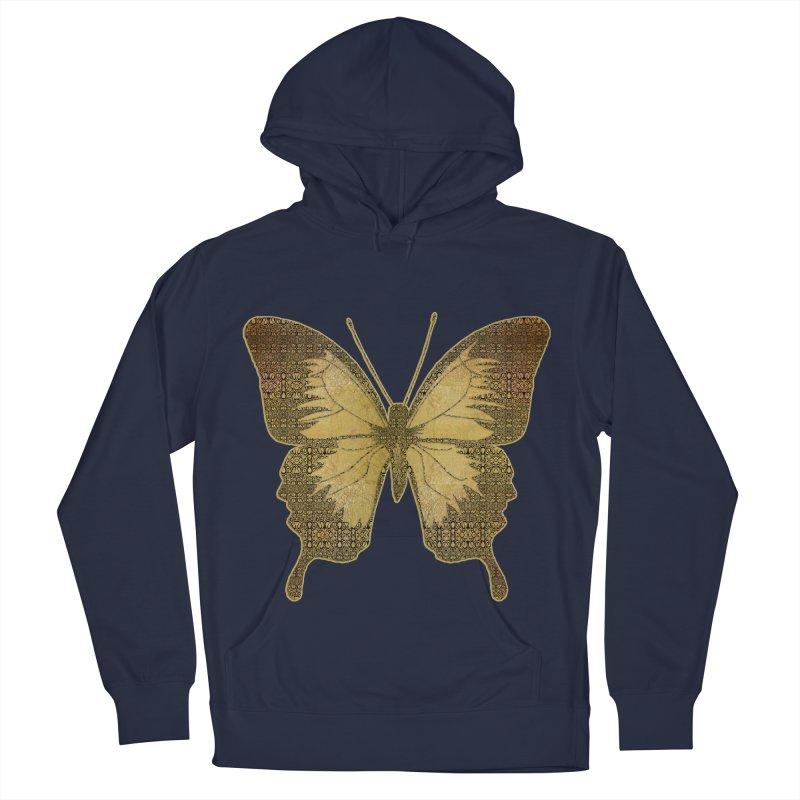 Golden Butterfly Men's Pullover Hoody by zuzugraphics's Artist Shop