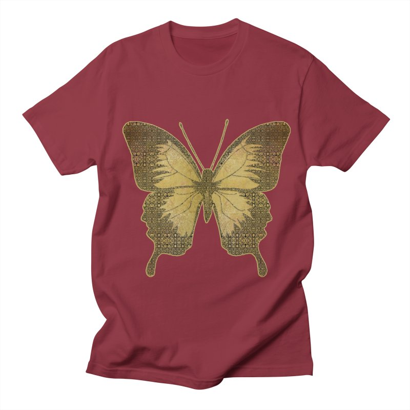 Golden Butterfly Women's Unisex T-Shirt by zuzugraphics's Artist Shop