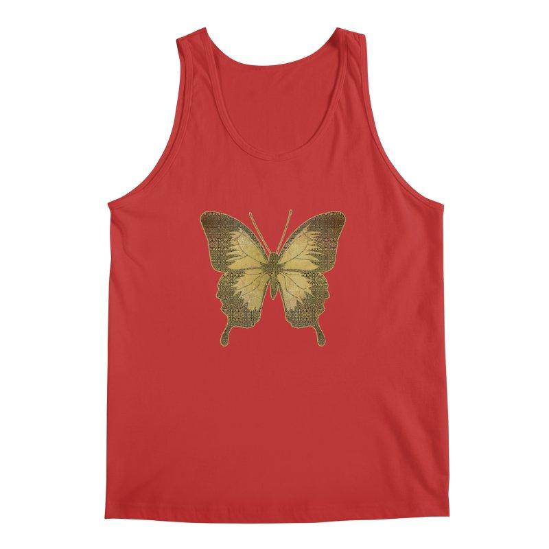 Golden Butterfly Men's Regular Tank by zuzugraphics's Artist Shop