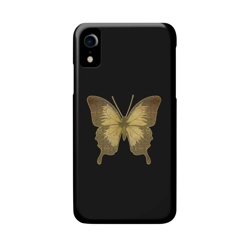 Golden Butterfly Accessories Phone Case by zuzugraphics's Artist Shop