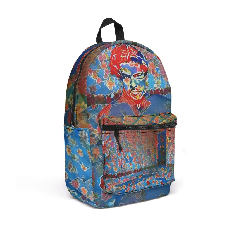 Portrait of a Young Immigrant Accessories Backpack Bag by zuzugraphics's Artist Shop