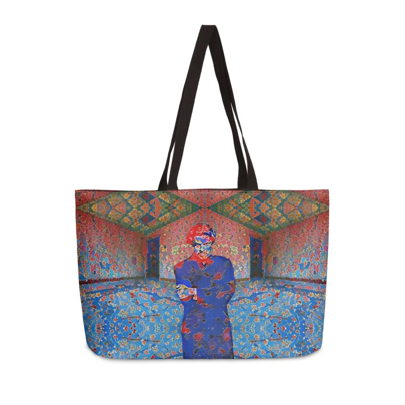 Portrait of a Young Immigrant Accessories Weekender Bag Bag by zuzugraphics's Artist Shop